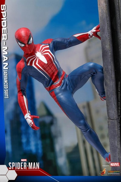 Hot Toys - Spiderman - Advanced Suit Version - Marvel Spiderman - PS4 Videogame