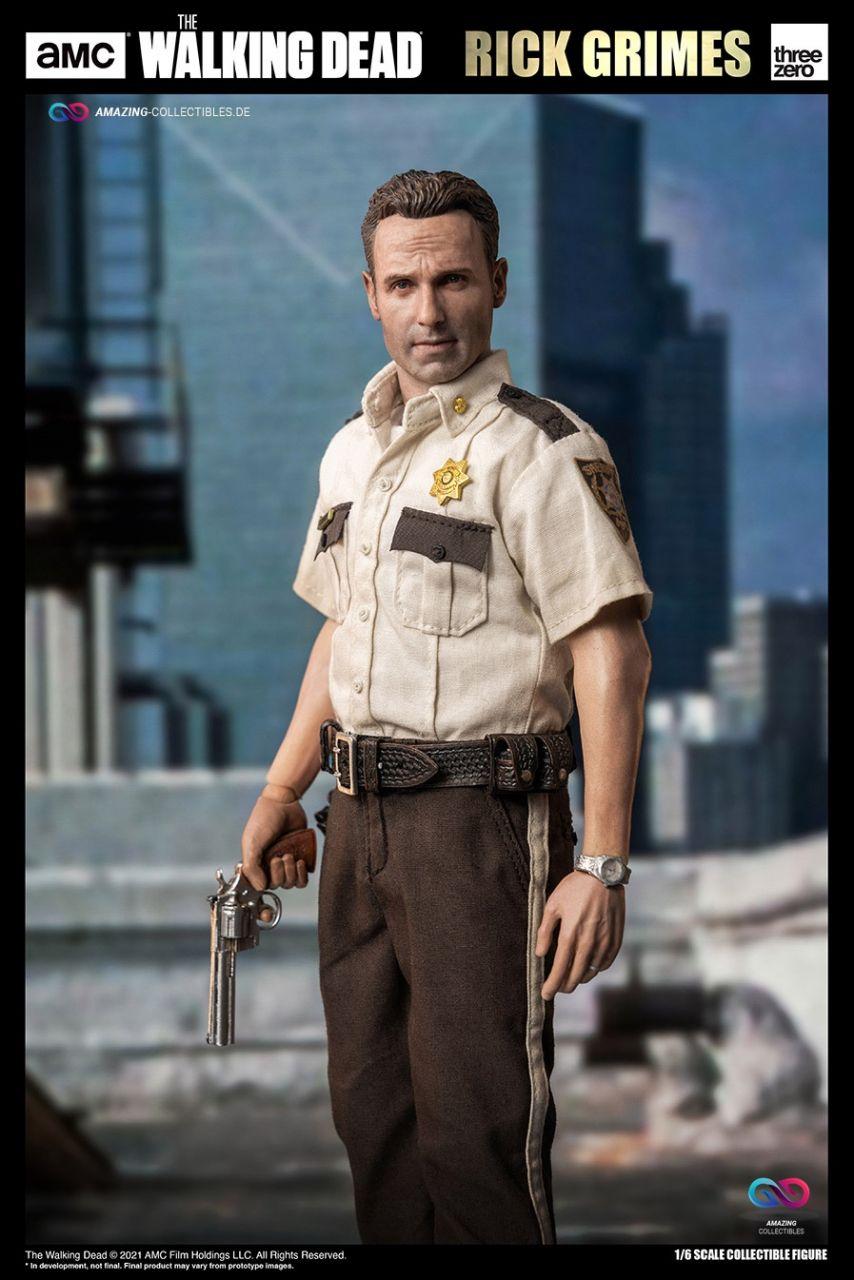 ThreeZero - Rick Grimes - Season 1 - The walking dead