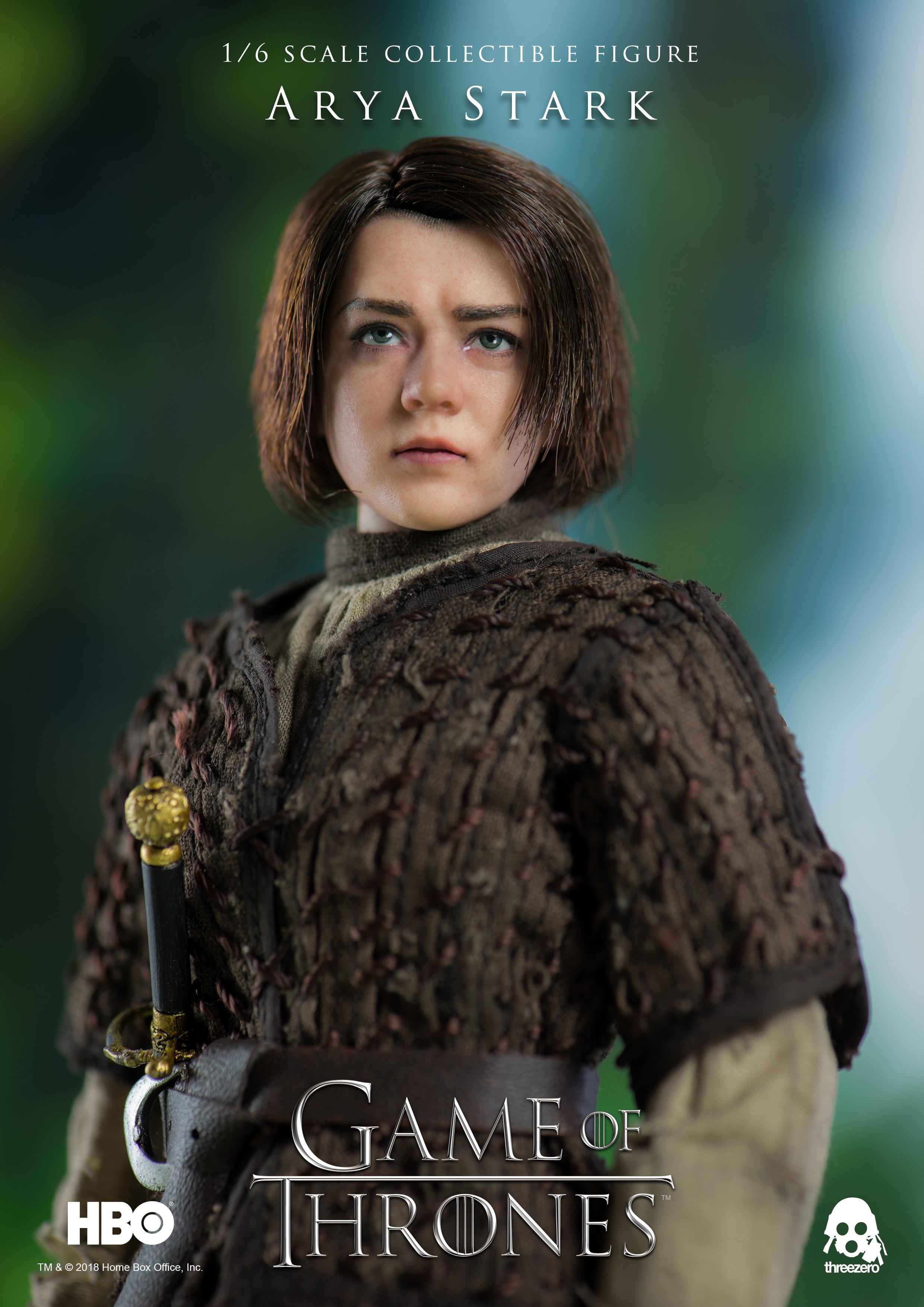 Threezero Arya Stark Game Of Thrones Game Of Thrones 3zero
