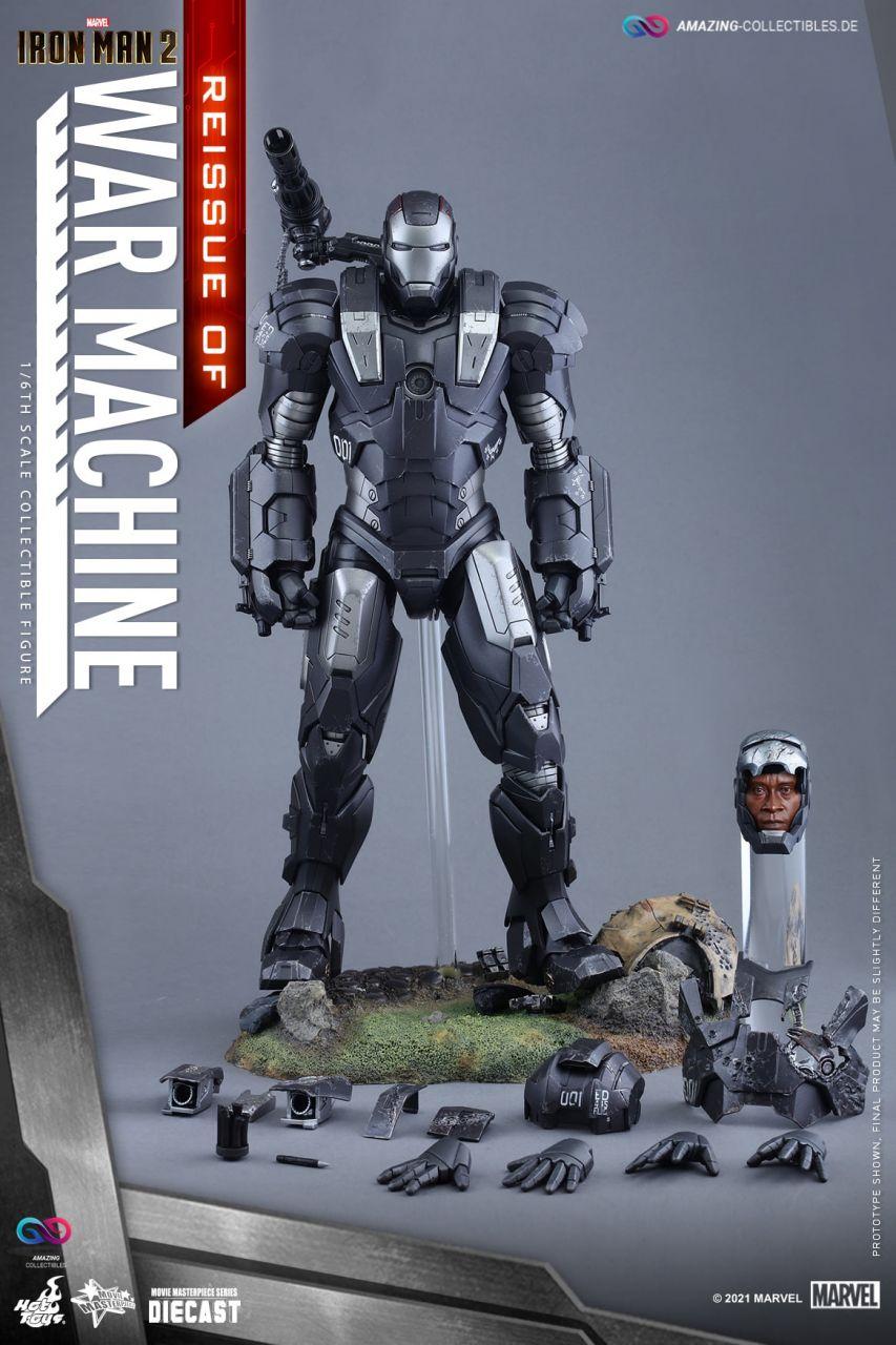 Hot Toys - War Machine - Reissue - Iron Man 2