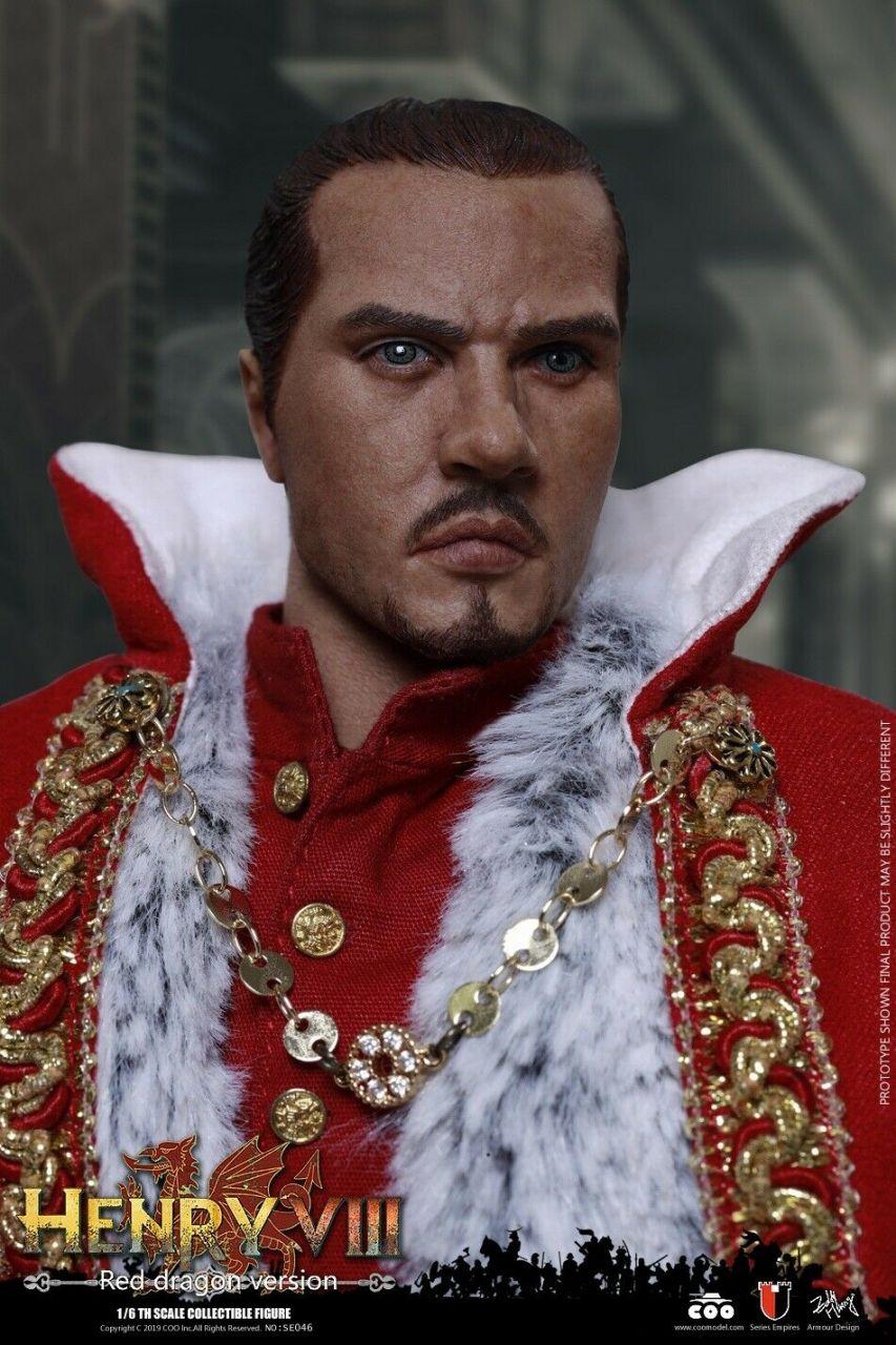 Coomodel - Henry VIII - Red Dragon Version