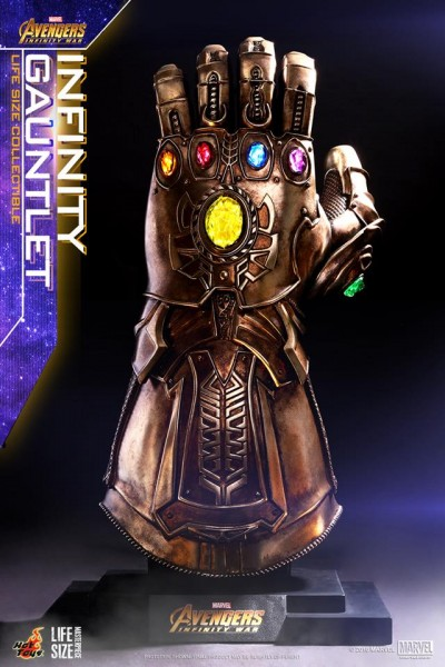 Hot Toys - Thanos Infinity Gauntlet - Life Size Replica - Avengers: Infinity War