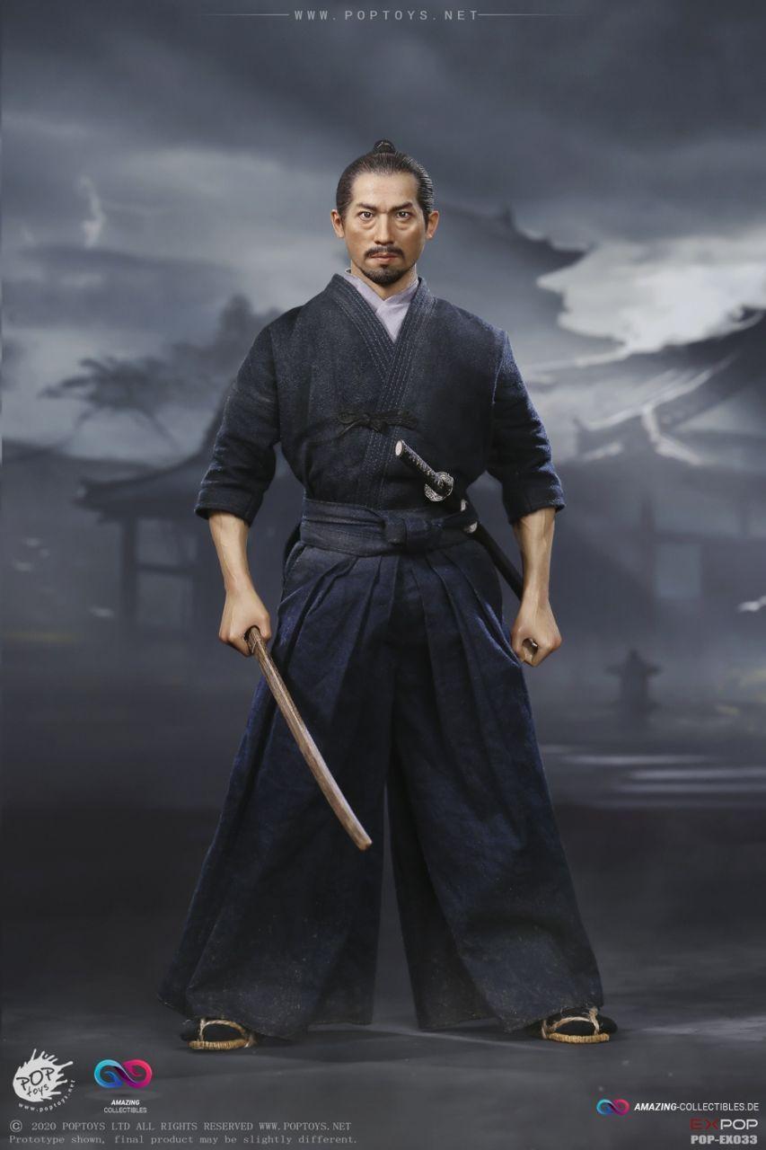 Poptoys - Brave Samurai - Ujio - Kendo Version