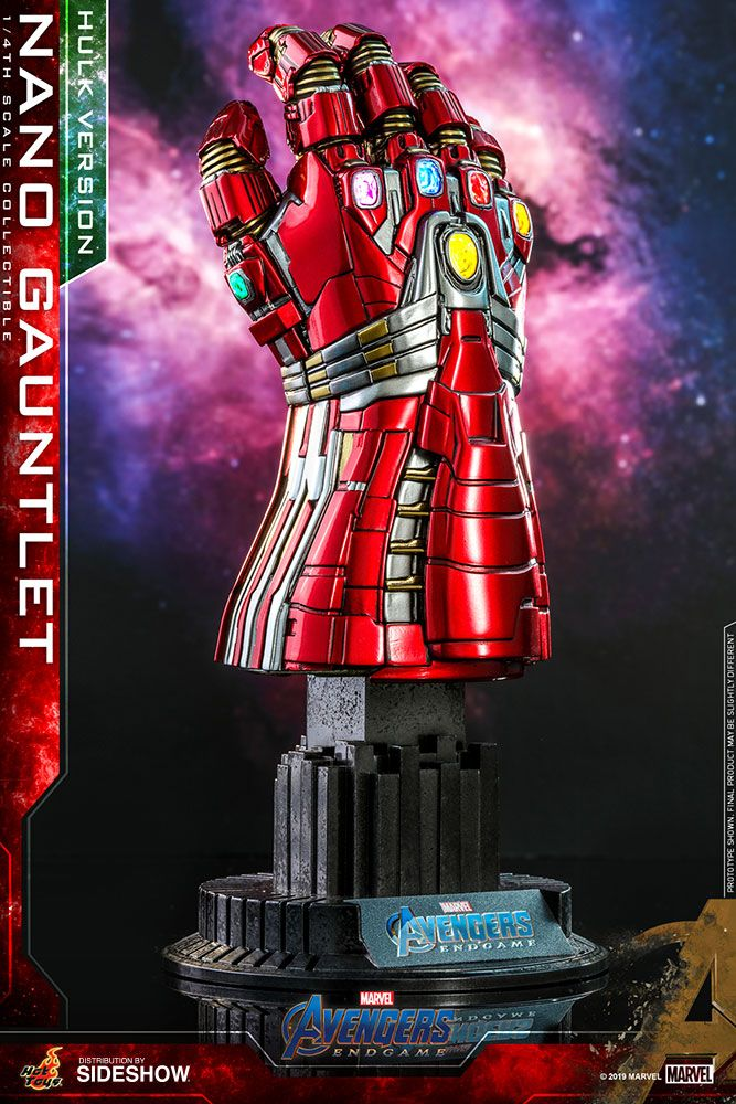 Hot Toys - Nano Gauntlet - Hulk Version - Quarter Scale - Avengers: Endgame