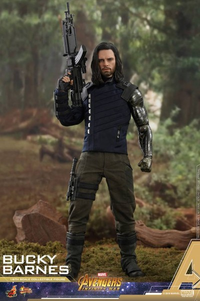 Hot Toys - Bucky Barnes - Avengers:Infinity War- Review Sample