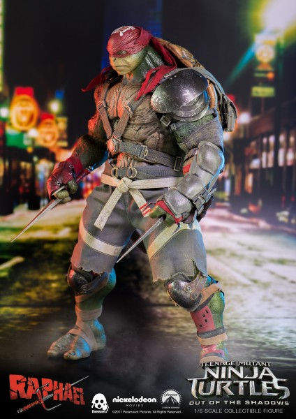 Threezero - Raphael - Teenage Mutant Ninja Turtles - Out of the shadows