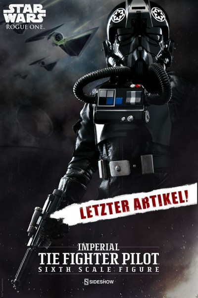 Sideshow -Tie Fighter Pilot - Star Wars Rogue One - Sideshow Exclusiv