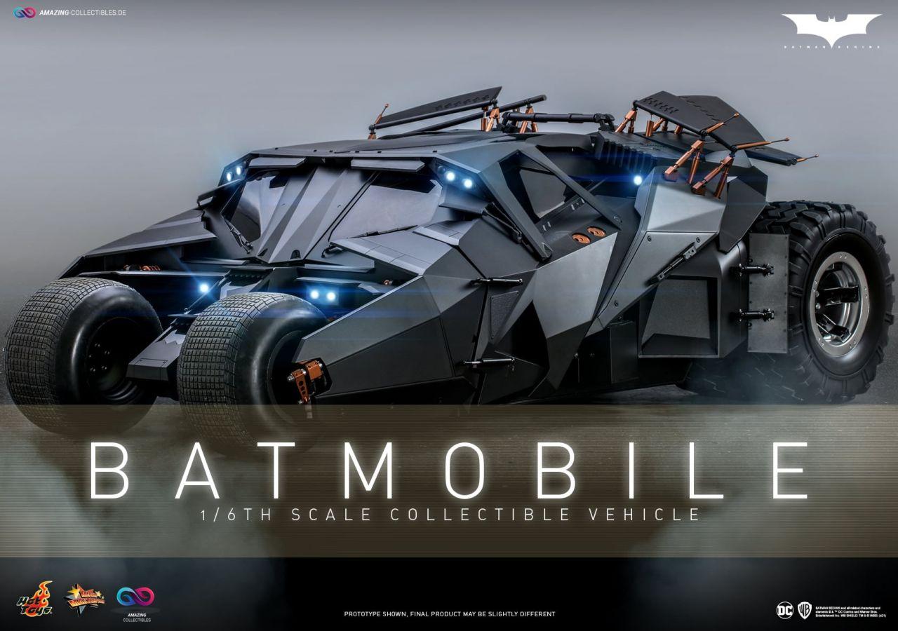 Hot Toys - Batmobile - Tumbler - Batman Begins