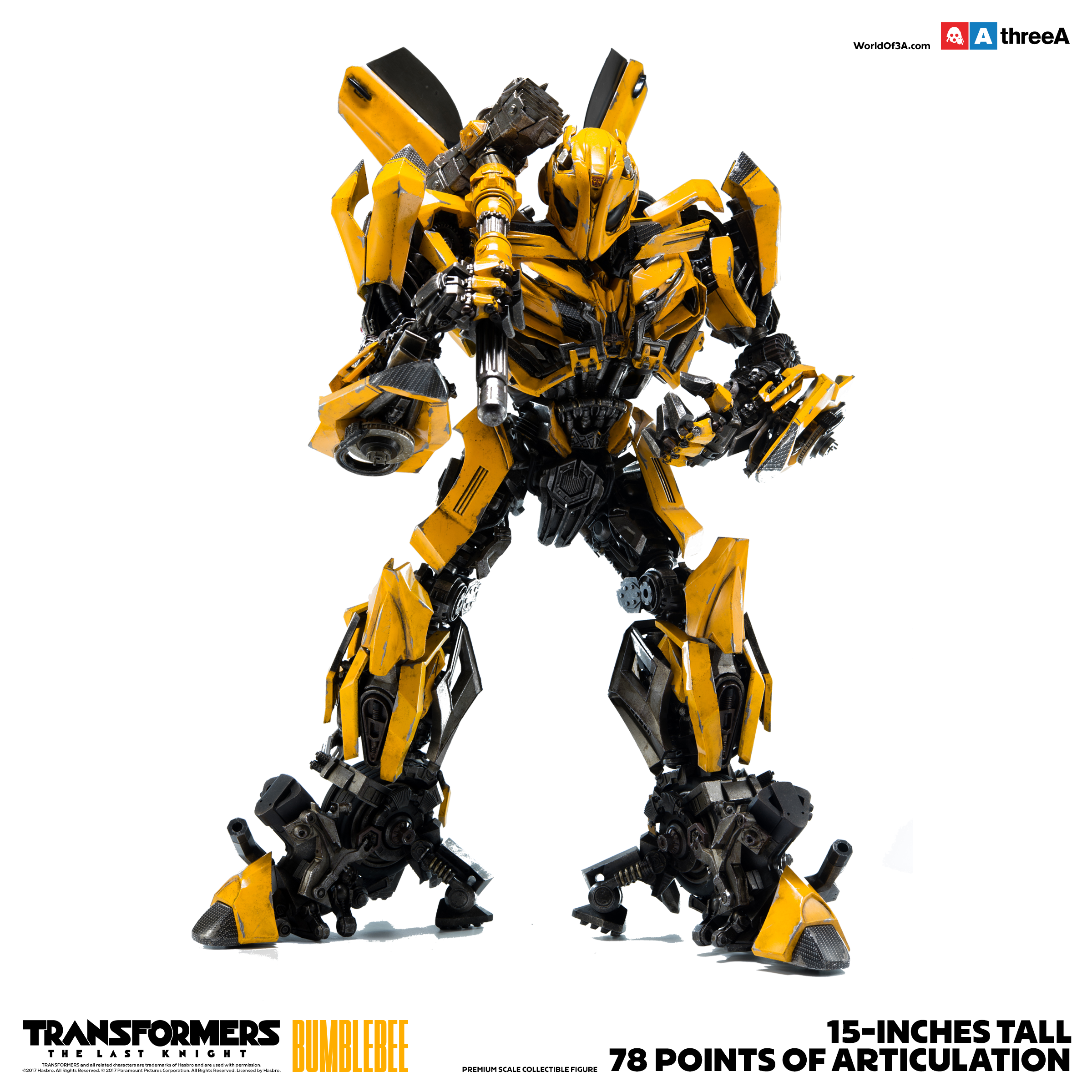 ThreeA - Bumblebee - Transformers - The last Knight | Archiv | 3Zero / 3A