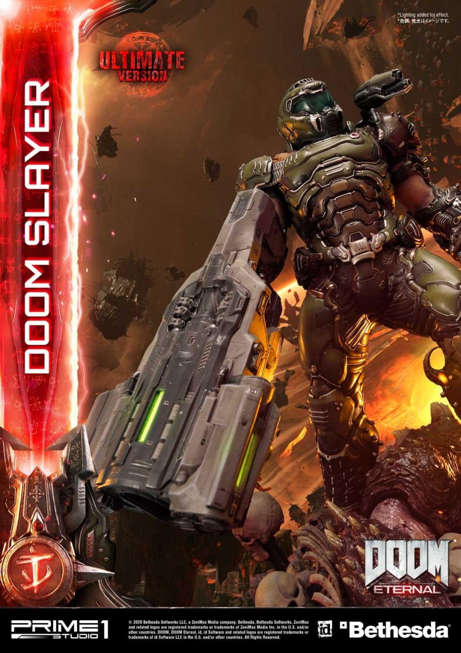 Prime 1 Studio - Doom Slayer - Ultimate Version - Doom Eternal