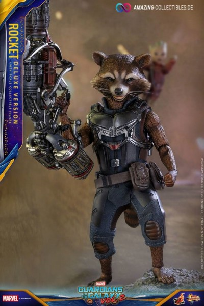Hot Toys - Rocket - Deluxe Version - Guardians of the Galaxy 2