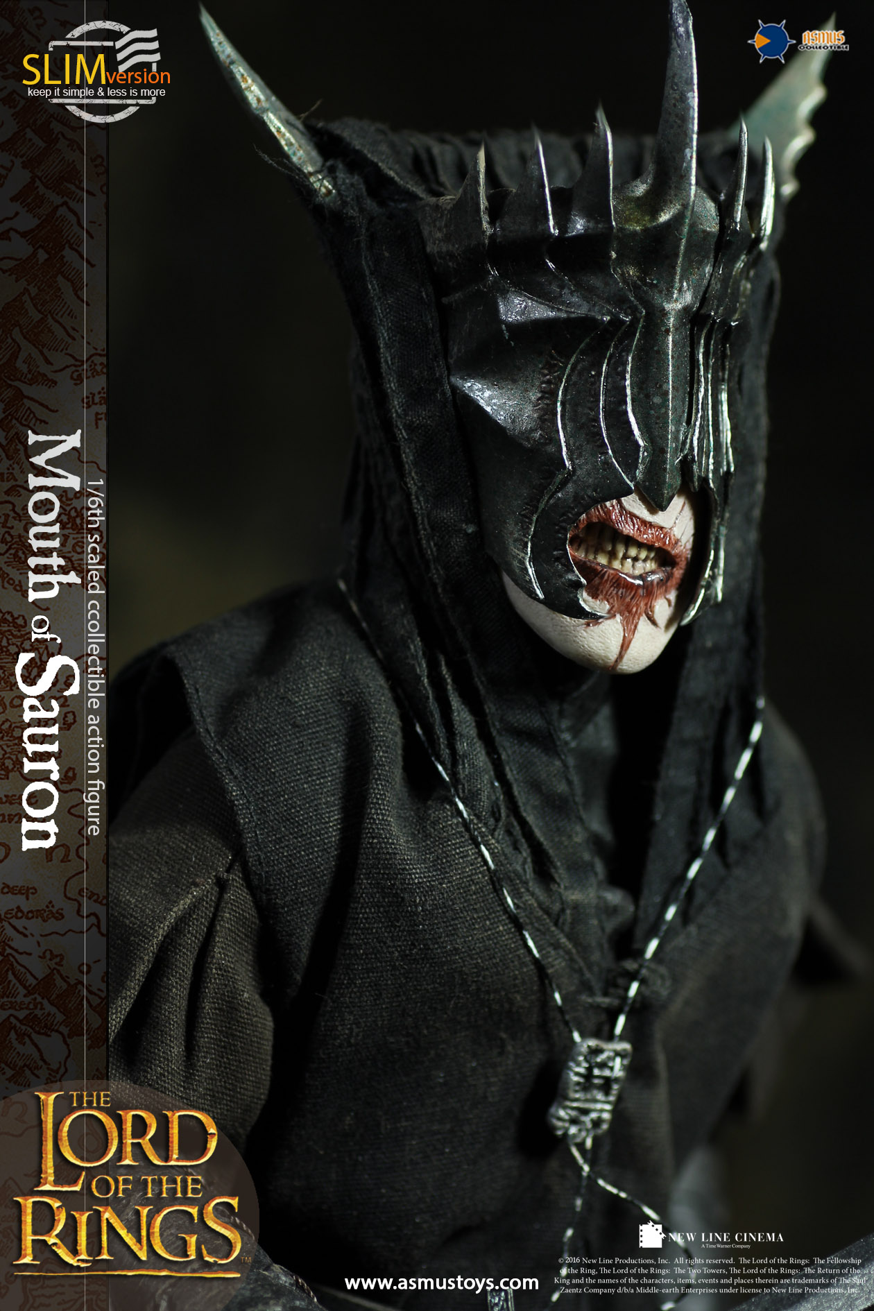 Herr der Ringe 1:72 Figur Saurons Mund Sauron/'s Mouth Gothmog Ork