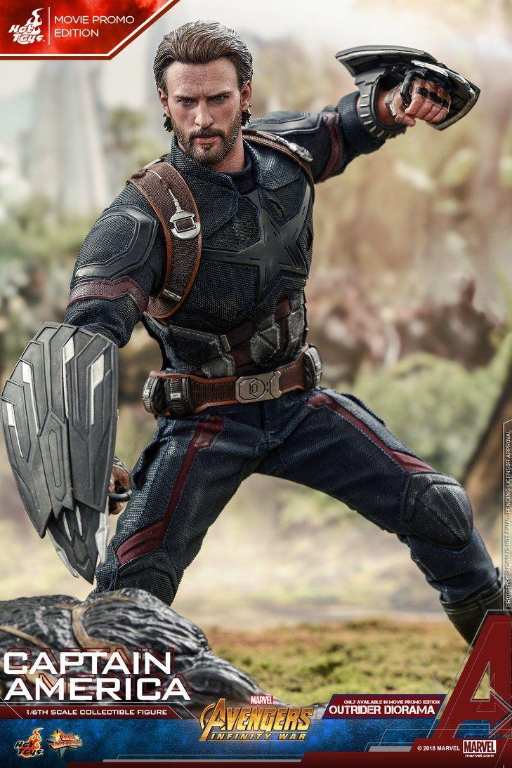 Hot Toys - Captain America - Movie Promo Version - Avengers:Infinity War