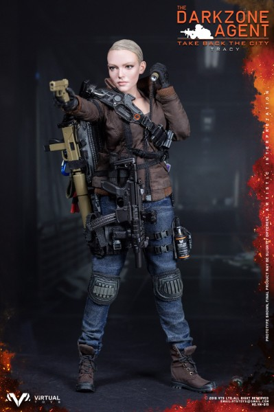 Virtual Toys- VTS- The Darkzone Agent - Tracy