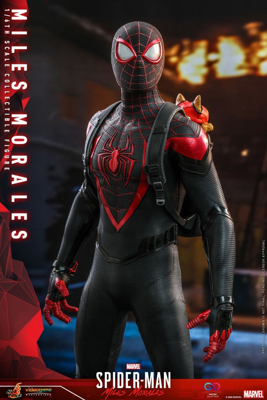 Hot Toys - Miles Morales - Marvel`s Spiderman: Miles Morales
