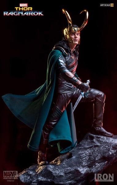 Iron Studios - Loki - Thor Ragnarok - 1/10 scale Statue