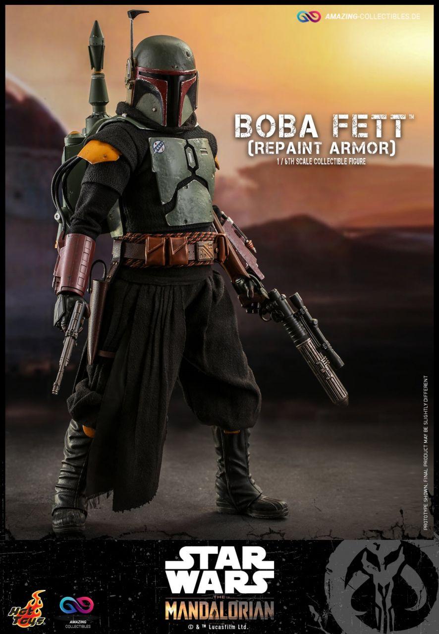 Hot Toys - Boba Fett - Repaint Armor - TMS056 - Star Wars: The Mandalorian