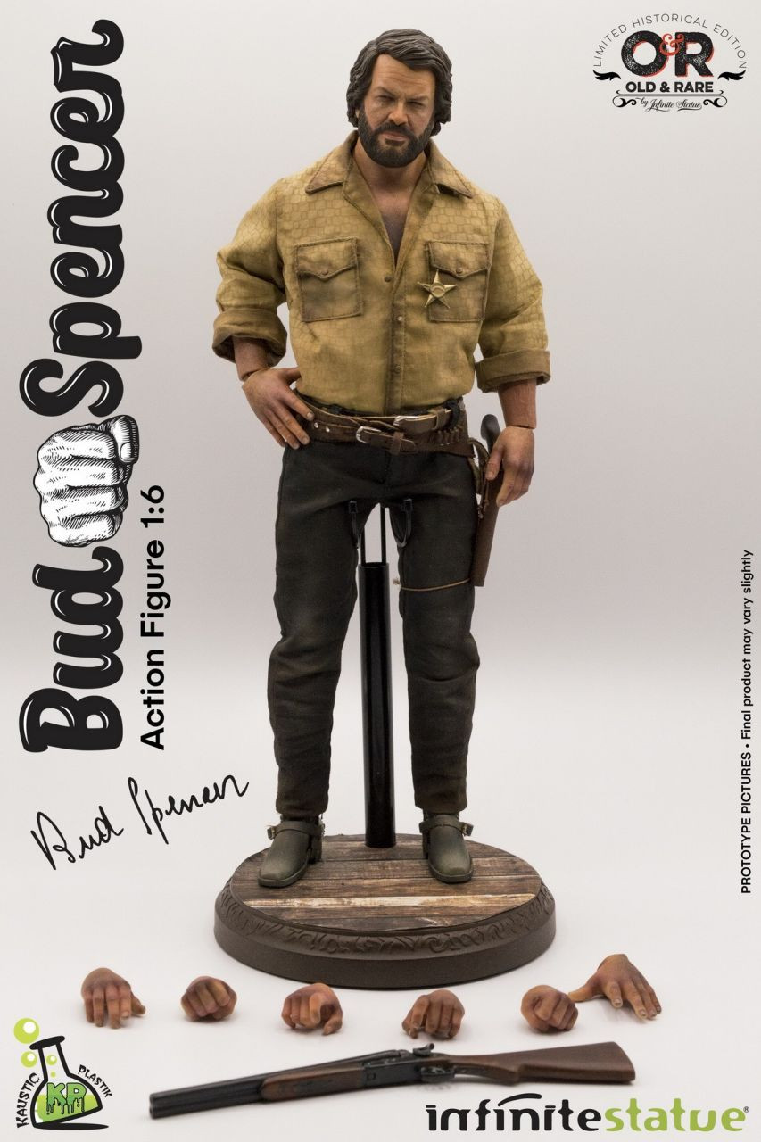 Kaustic Plastic x Infinite Statue - Bud Spencer - Collectible Figure