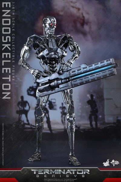 Hot Toys - Endoskelet 1:6- Terminator Genisys Movie Masterpiece