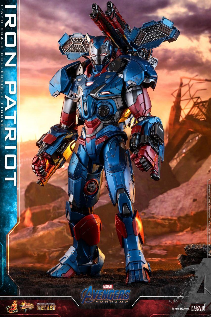 Hot Toys - Iron Patriot - Avengers: Endgame