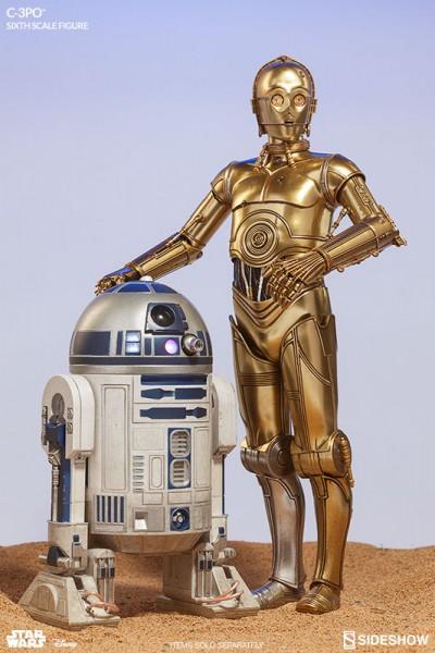 Sideshow - C-3PO und R2-D2 - Droiden Bundle - Star Wars