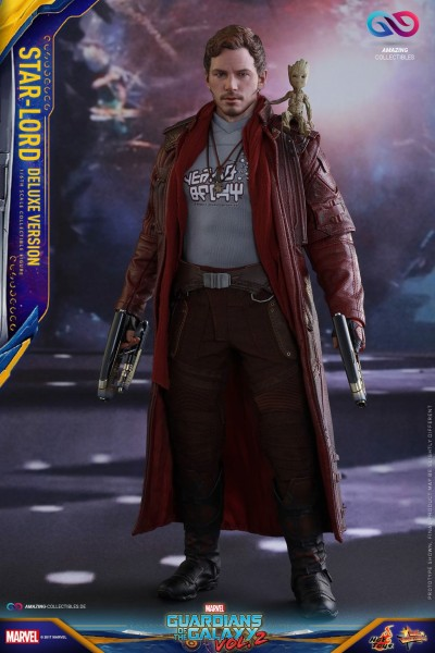 Hot Toys - Star Lord - Guardians of the Galaxy 2 - Deluxe Version