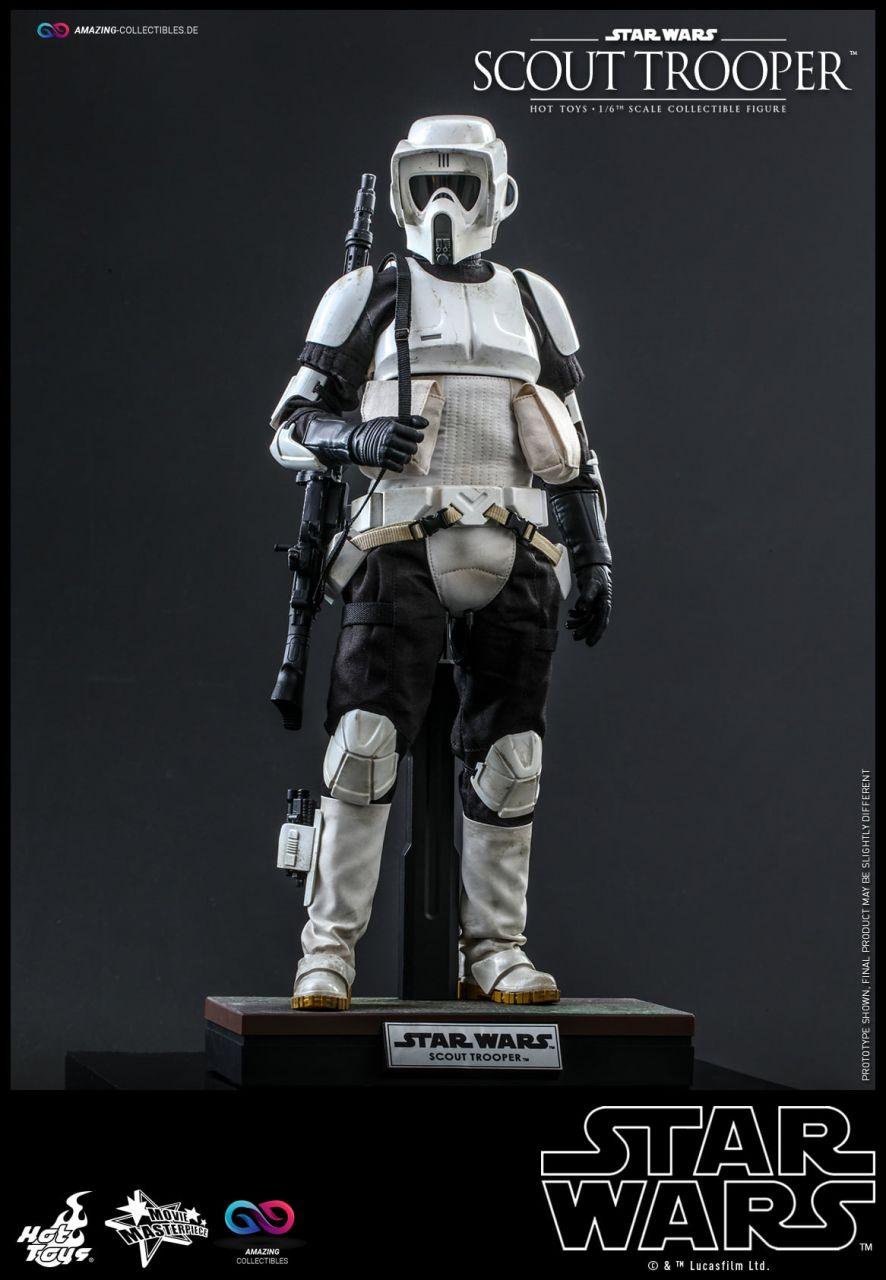 Hot Toys - Scout Trooper - MMS611 - Star Wars: Die Rückkehr der Jedi Ritter