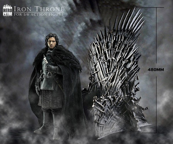 Hero Club - Iron Throne - Eiserner Thron - 1/6