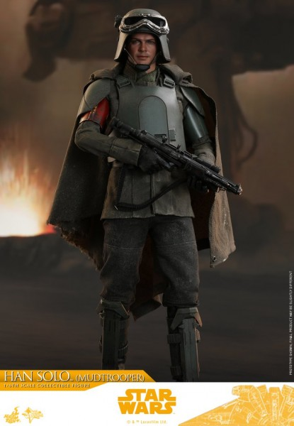 Hot Toys - Han Solo - Mud Trooper Version - Solo: A Star Wars Story