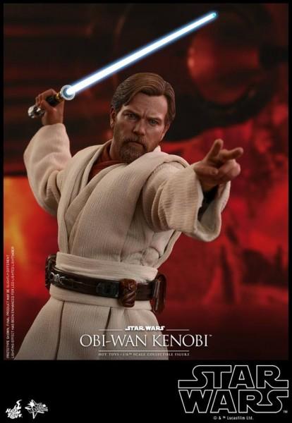 Hot Toys - Obi Wan Kenobi - Reg Version - Star Wars - Die Rache der Sith