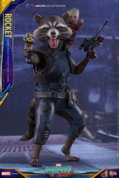 Hot Toys - Rocket - Normale Version - Guardians of the Galaxy 2