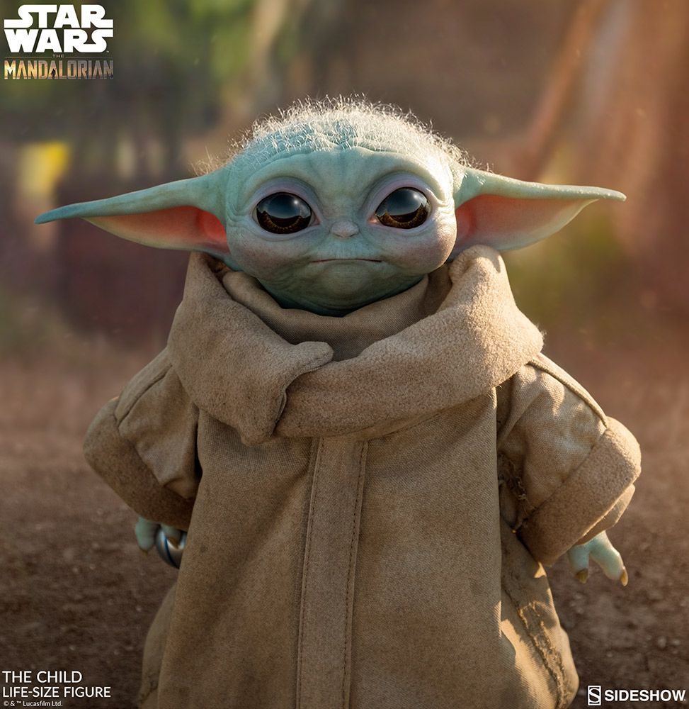 Sideshow Collectibles - The Child (Baby Yoda) - Lifesize Figure - The Mandalorian - Star Wars