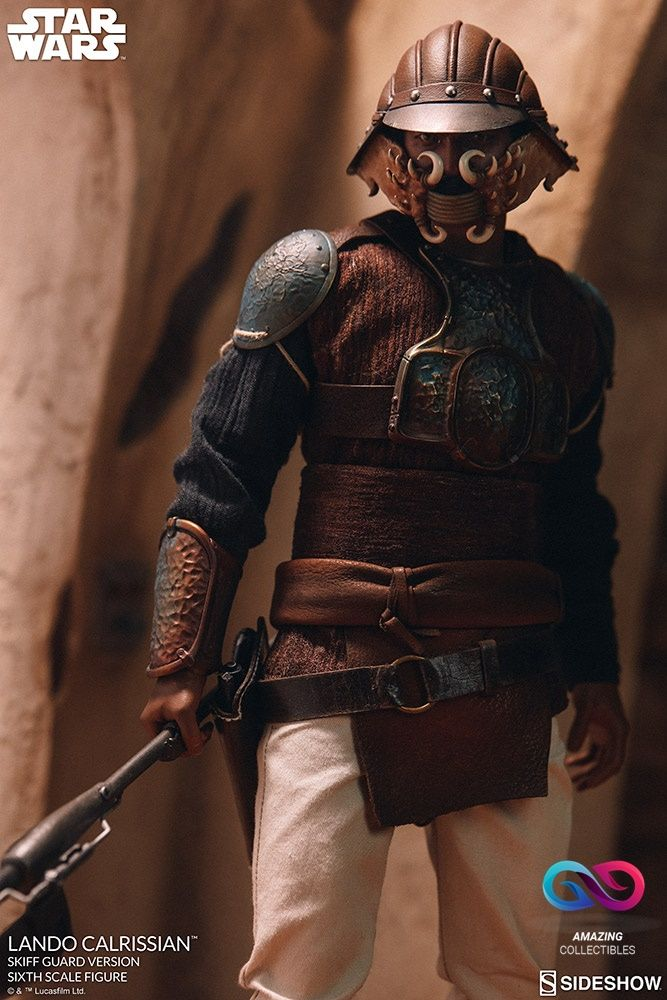 Sideshow - Lando Calrissian - Skiff Guard Version - Star Wars