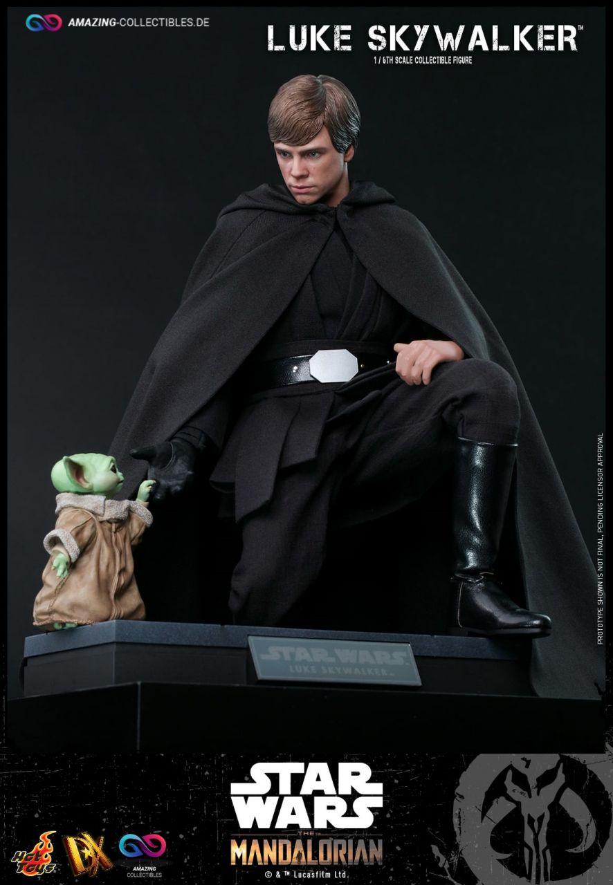 Hot Toys - Luke Skywalker - Regular Version - DX22 - Star Wars: The Mandalorian