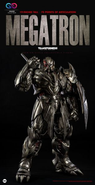 ThreeA - Megatron - DX Version - Transformers The last knight