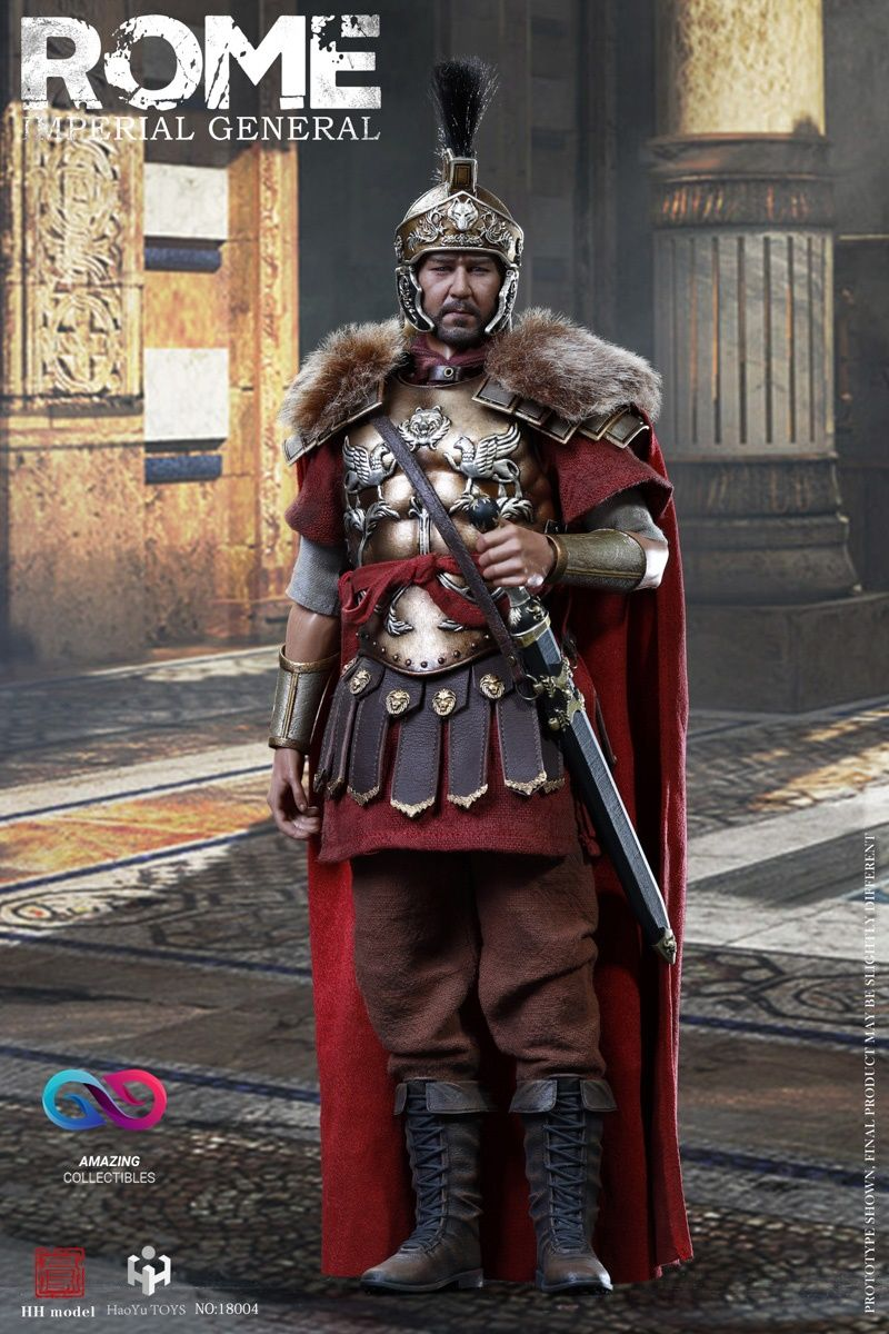 HHmodel x HaoYuTOYS - Rome Imperial General (Single version) - 1/6 Imperial Army