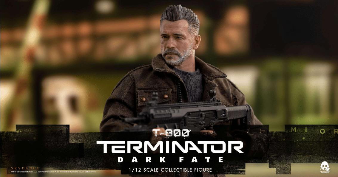 ThreeZero - T-800 - Terminator - 1/12 Figur - Terminator: Dark Fate