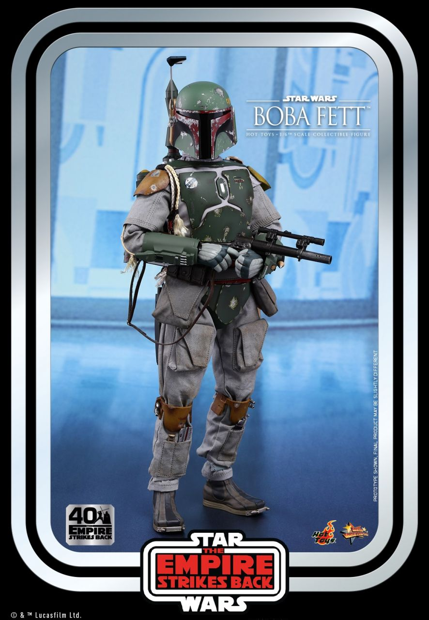 Hot Toys -Boba Fett - 40th Anniversary Collection - Star Wars - Das Imperium schlägt zurück