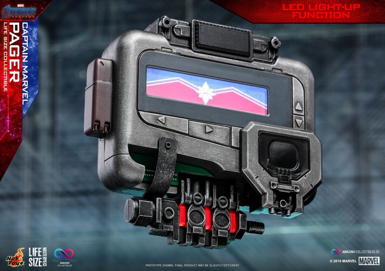 Hot Toys - Captain Marvel Pager - Marvel Cinematic Universe - Lifesize Collectible