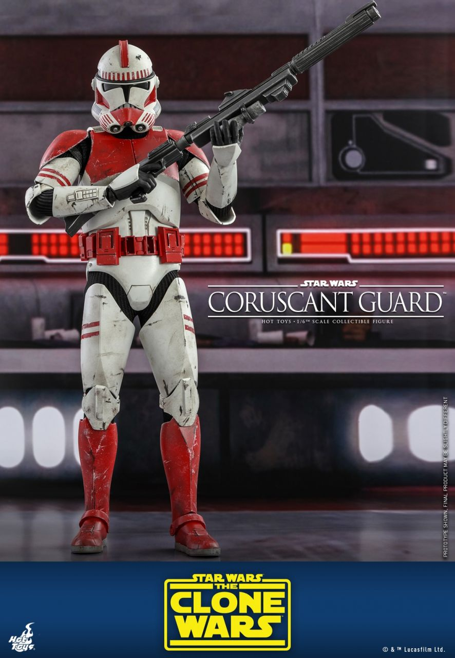 Hot Toys - Coruscant Guard - TMS025 - Star Wars: The clone wars