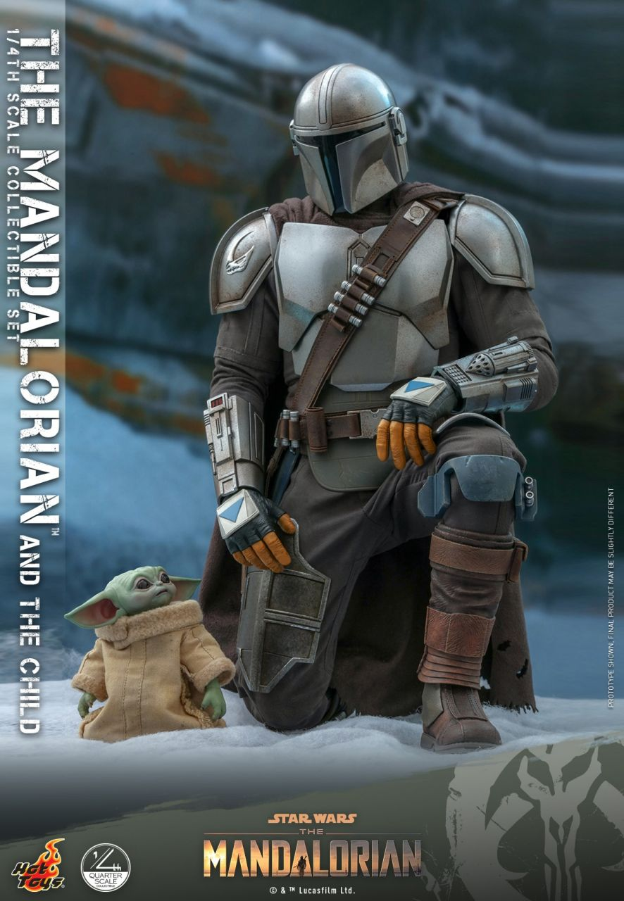 Hot Toys - The Mandalorian and the Child - Regular Version - Quarter Scale - Star Wars