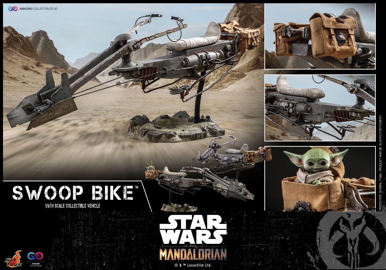 Hot Toys - Swoop Bike - TMS053 - Star Wars: The Mandalorian