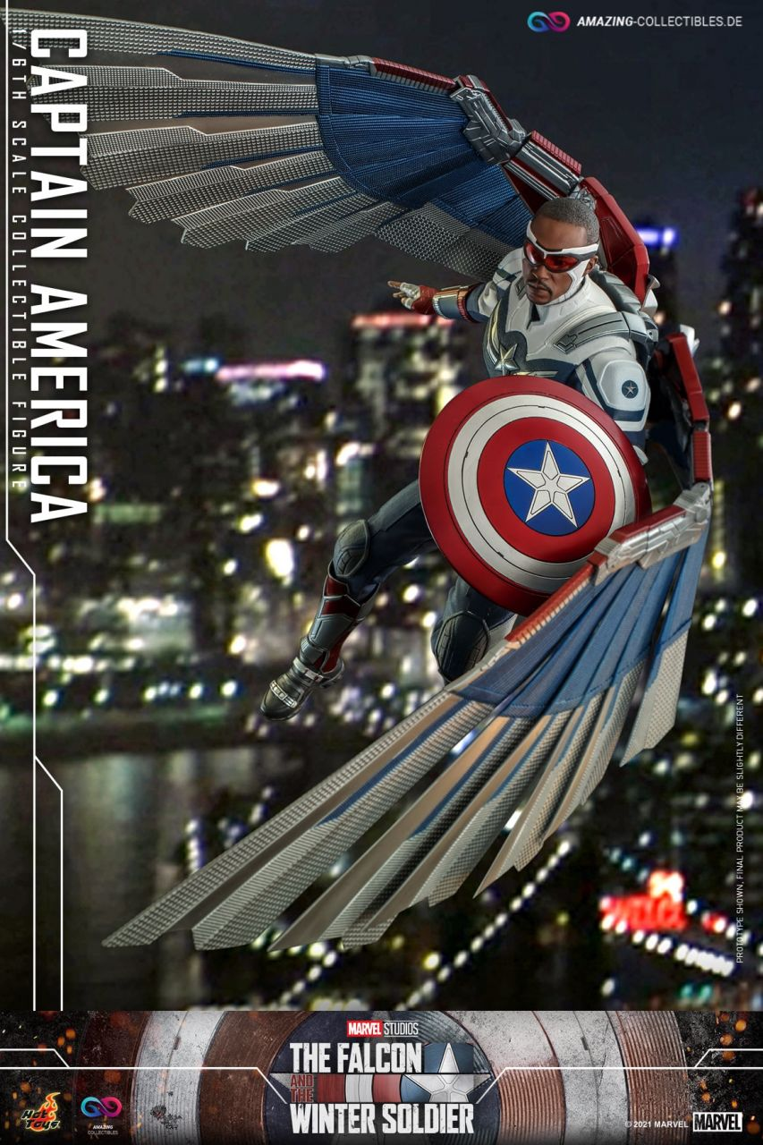 Hot Toys - Captain America - TMS040 - The Falcon and the Wintersoldier