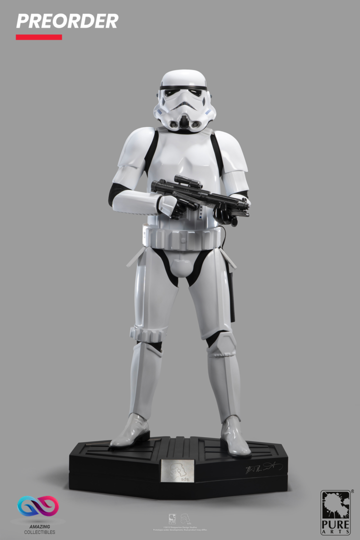 PureArts - Original Stormtrooper - 1:3 scale - Star Wars