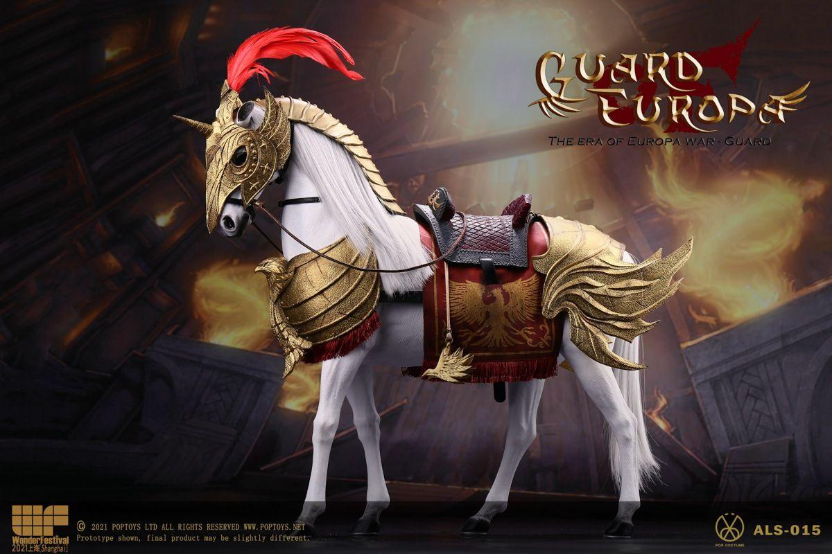Poptoys - Guard of Eagle Knight War horse - ALS015 - WF version