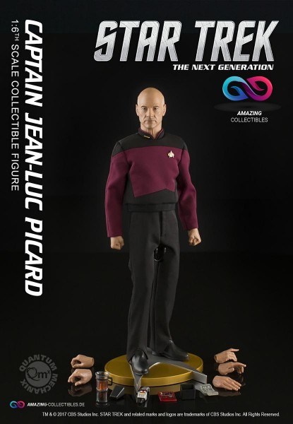 Quantum Mechanix - Captain Jean-Luc Picard - Star Trek - The next generation - Exclusiv Version