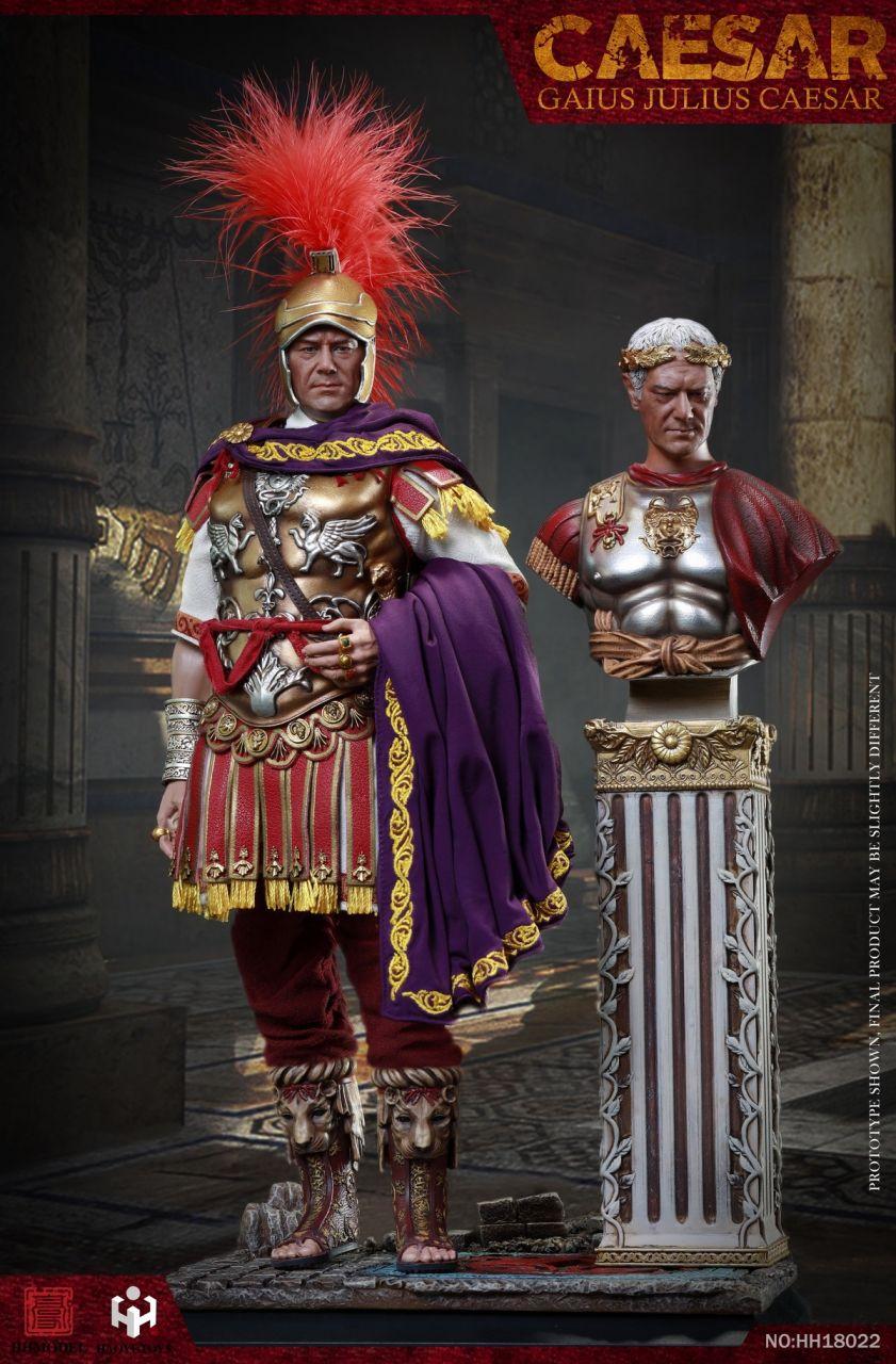 HHmodel x Haoyu Toys - Gaius Julius Caesar - Deluxe Version - Imperial Army - HH18022