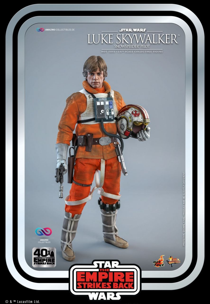 Hot Toys - Luke Skywalker - Snowspeeder Pilot - Star Wars: Das Imperium schlägt zurück