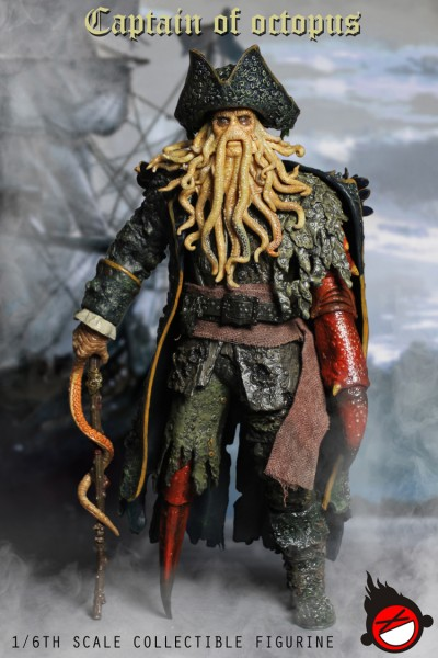 XD Toys - Captain of Octopus - Davy Jones