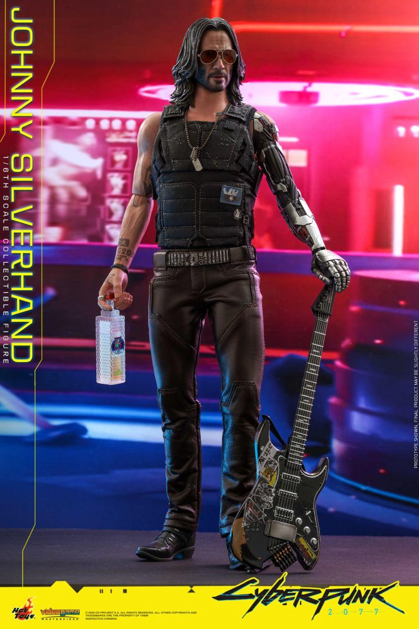 Hot Toys - Johnny Silverhand - CD Projekt Red - Cyberpunk 2077